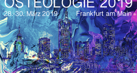 <strong>OSTEOLOGIE 2019</strong><br>28.-30.03.2019 in Frankfurt am Main